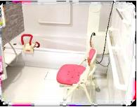 プライバシー確保の個別入浴・リフト浴対応