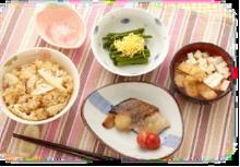 大手食品メーカーの介護向け食材による昼食・夕食